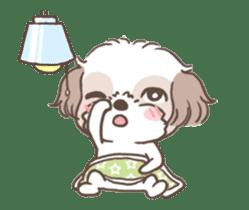 King & Bow 4 (Lovely Shih Tzu) sticker #14536710