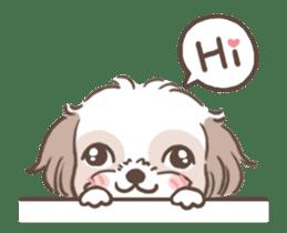 King & Bow 4 (Lovely Shih Tzu) sticker #14536714