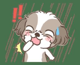 King & Bow 4 (Lovely Shih Tzu) sticker #14536722