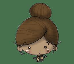 NATSOM:Tan Skin Girl sticker #14541610