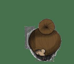 NATSOM:Tan Skin Girl sticker #14541637