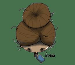 NATSOM:Tan Skin Girl sticker #14541641