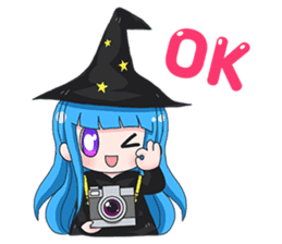 Tuckky Little Witch sticker #14543974