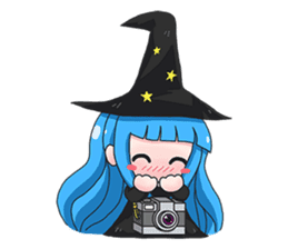 Tuckky Little Witch sticker #14543978