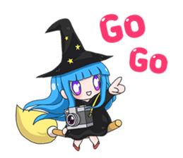 Tuckky Little Witch sticker #14543979