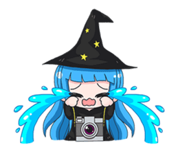 Tuckky Little Witch sticker #14543981