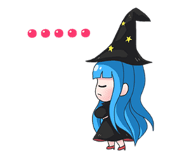 Tuckky Little Witch sticker #14543982