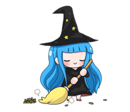 Tuckky Little Witch sticker #14543985