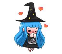 Tuckky Little Witch sticker #14543989
