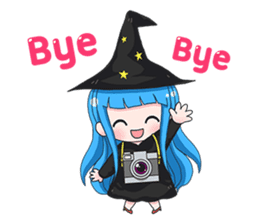 Tuckky Little Witch sticker #14543990