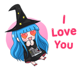 Tuckky Little Witch sticker #14543991