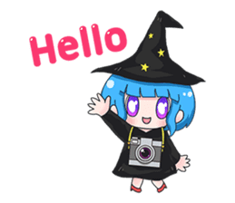 Tuckky Little Witch sticker #14543996