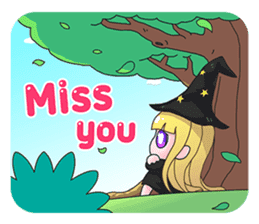 Tuckky Little Witch sticker #14543997