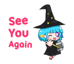Tuckky Little Witch sticker #14543999
