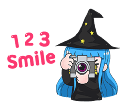 Tuckky Little Witch sticker #14544002