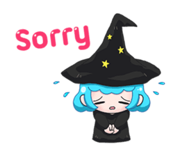 Tuckky Little Witch sticker #14544006