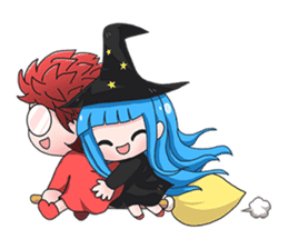 Tuckky Little Witch sticker #14544007