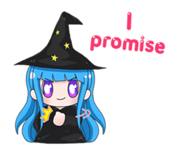 Tuckky Little Witch sticker #14544009