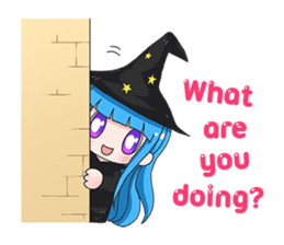 Tuckky Little Witch sticker #14544010