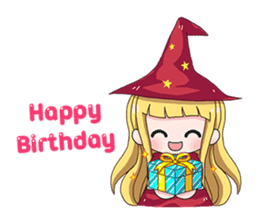 Tuckky Little Witch sticker #14544011