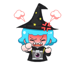 Tuckky Little Witch sticker #14544013