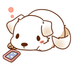 tibi taremimi inu sticker #14544894