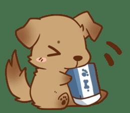 tibi taremimi inu sticker #14544898