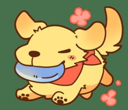 tibi taremimi inu sticker #14544922