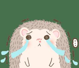 Hedgehog Aob Choey sticker #14566143