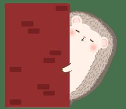 Hedgehog Aob Choey sticker #14566144
