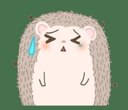 Hedgehog Aob Choey sticker #14566146