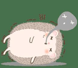 Hedgehog Aob Choey sticker #14566148
