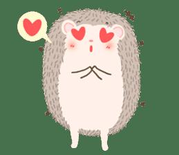 Hedgehog Aob Choey sticker #14566149