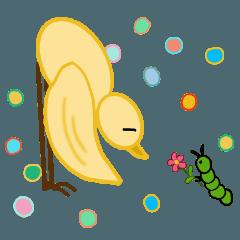 Little Bird & Mr. Caterpillar