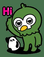 Mr. Kakapo - v1 sticker #14570278