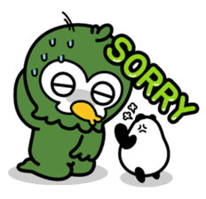 Mr. Kakapo - v1 sticker #14570284