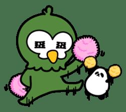 Mr. Kakapo - v1 sticker #14570287