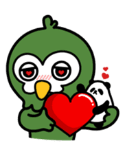 Mr. Kakapo - v1 sticker #14570290