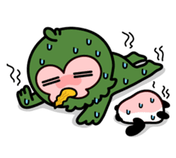 Mr. Kakapo - v1 sticker #14570302
