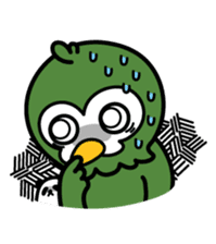 Mr. Kakapo - v1 sticker #14570307