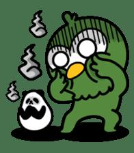 Mr. Kakapo - v1 sticker #14570312