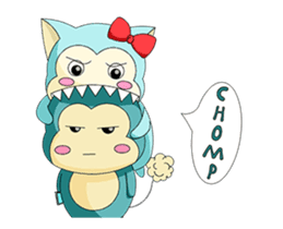 Bukuma the Animated sticker #14573988