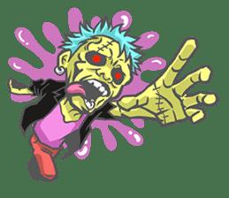 pop zombie Sticker sticker #14574719