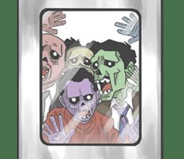 pop zombie Sticker sticker #14574725