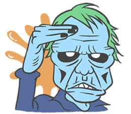 pop zombie Sticker sticker #14574730