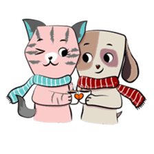 Bubu and Charley Winter Adventures sticker #14583933