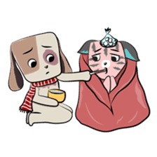 Bubu and Charley Winter Adventures sticker #14583936