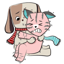 Bubu and Charley Winter Adventures sticker #14583937