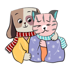 Bubu and Charley Winter Adventures sticker #14583938