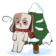 Bubu and Charley Winter Adventures sticker #14583940
